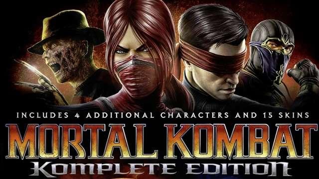 Mortal Kombat Komplete Edition (текст)