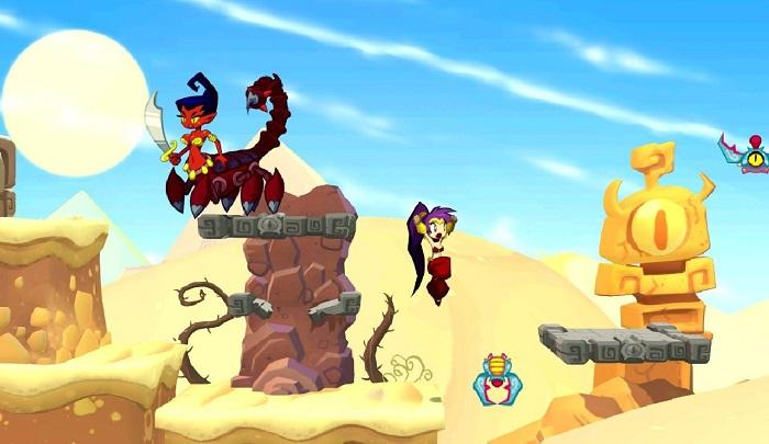 Изображение к русификатору Shantae Half-Genie Hero