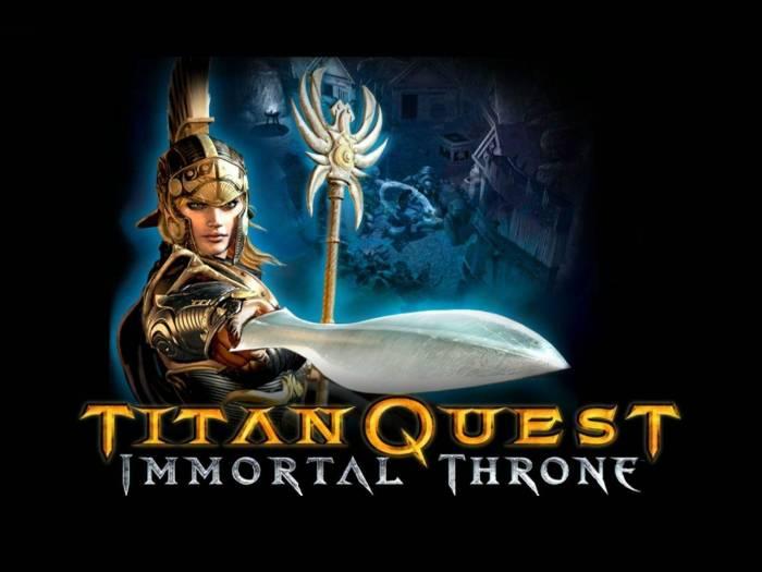 Titan Quest: Immortal Throne (звук - Steam)