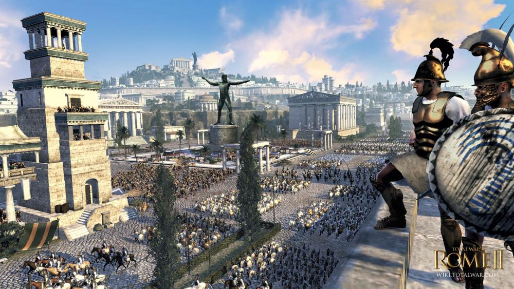 Изображение к русификатору Total War: Rome 2